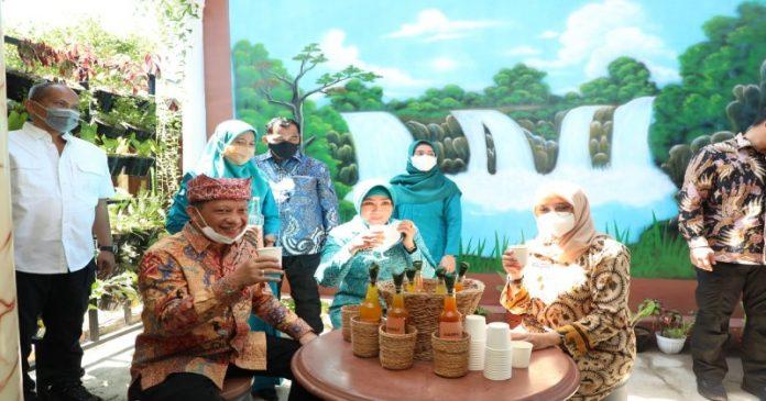 Tinjau Smart Kampung Desa Sukojati, Tito: Inovasi di Banyuwangi Menjadi Contoh