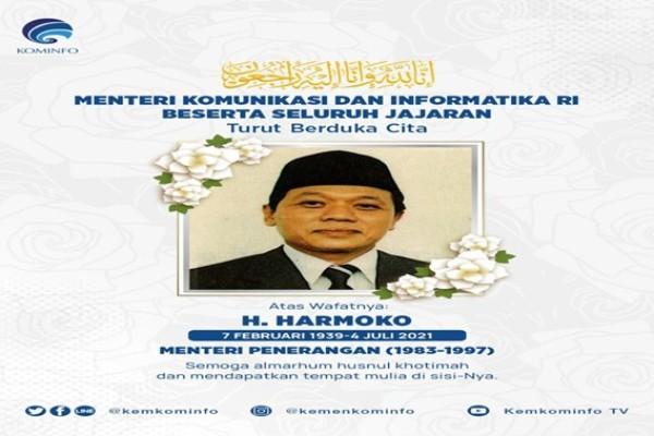 Kenang Pengabdian Harmoko, Menteri Johnny: Terima Kasih atas Dedikasinya untuk Indonesia